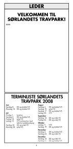 1 - Sørlandets Travpark - Page 4