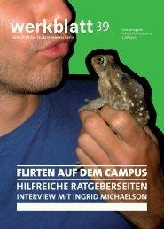FLIRTEN AUF DEM CAMPUS - Studentenwerk Berlin
