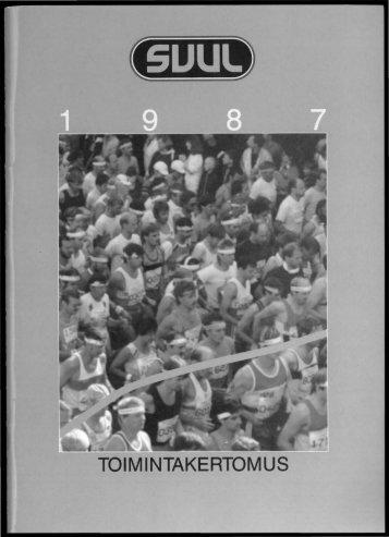 SVUL:n toiminta 1987