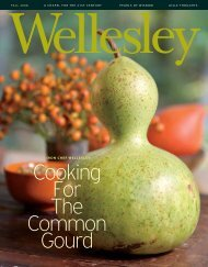Cooking For The Common Gourd - Wellesley College