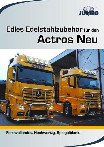 Actros Neu - Jumbo-Fischer