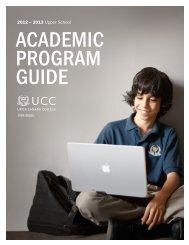 2012 – 2013 Upper School - Study in the UK