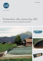 Protective Silo Covers, 100 kB, PDF - Zill GmbH & Co. KG