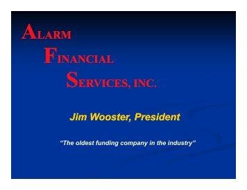 AFS INC - Alarm Monitoring Services