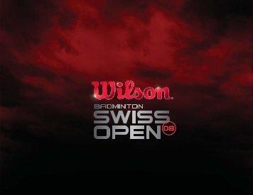 Untitled - Badminton Swiss Open