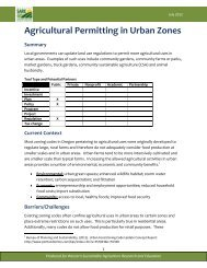 Download the agricultural permitting tool (pdf) - Oregon Small Farms