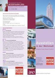 RZ Aussteller Flyer.indd - Interpharm