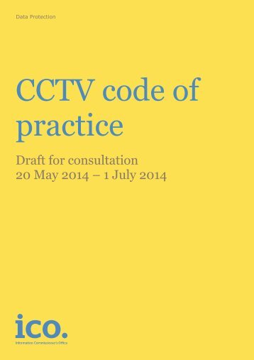 Image Result For A Cctv Code Of Practice Is Published By