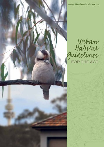 Urban Habitat Guidelines - Life in the Suburbs