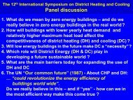 presentation - The 12th International Symposium on District Heating ...
