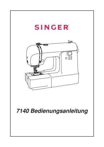 7140 Bedienungsanleitung - Singer