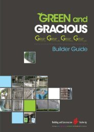 Green and Gracious Builder Guide - Building & Construction Authority