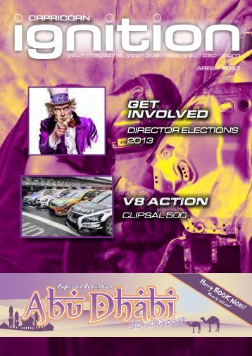 get involved get involved v8 action v8 action - Capricorn Society