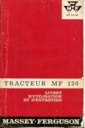 TRACTEUR MF 1313