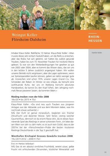 2008 Max Gerstl (deutsch) - Keller Wein