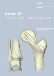 Asnis III Cannulated Screw System - Stryker