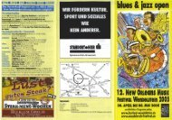 Flyer zum New Orleans Music Festival 2005 - Landratsamt Roth