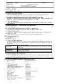 Bezpečnostní list - PEMA Velkoobchod drogerie - Page 3