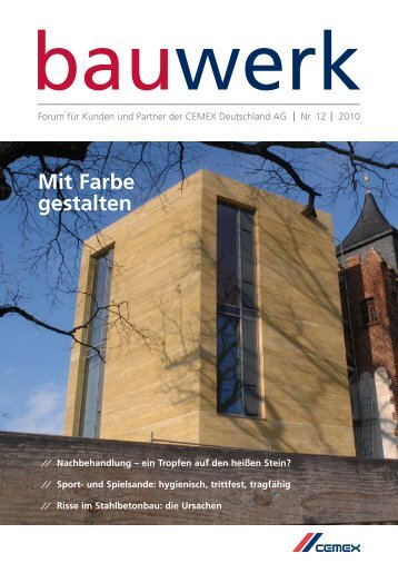 Nr. 12 / April 2010 - Cemex Deutschland AG