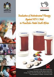 Evalution of the antiretroviral therapy in KwaZulu-Natal, South Africa