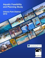 Aquatic Feasibility and Planning Study - Urbana Park District