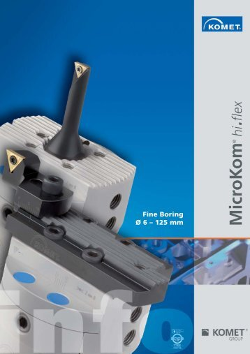 MicroKom® hi.flex Fine Boring Ř 6-125 mm - Power-Tools