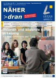 Download: NÄHER dran, Nr. 7 / März 2005 - Leipzig Tourismus und ...