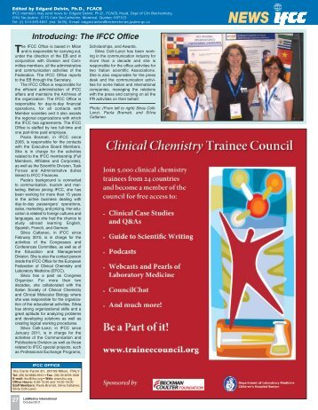 2011-10 - EFCC Corner LMI.pdf - European Federation of Clinical ...