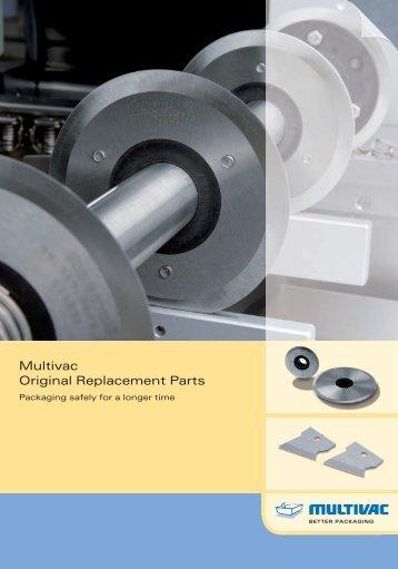 Multivac Original Replacement Parts