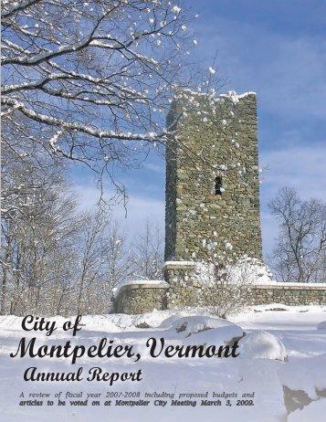 City of Montpelier, Vermont