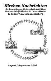 08 / 09 - Evangelische Kirchen in Erfurt