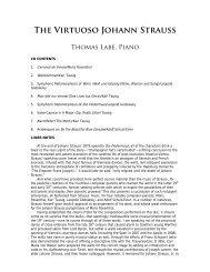 The Virtuoso Johann Strauss: Thomas Labé, piano