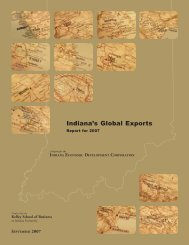 Indiana's Global Exports - Indiana Business Research Center