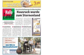 Juli 2011 - Landl Zeitung