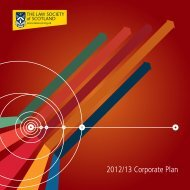 Our Corporate plan - Law Society of Scotland