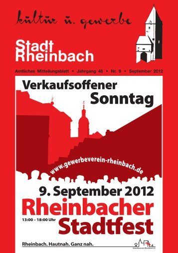September 2012 - Stadt Rheinbach