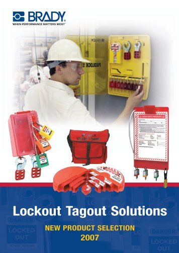 Lockout Tagout Solutions - Industrial and Bearing Supplies