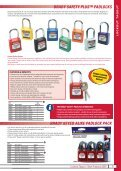 Lockout Tagout Solutions - Industrial and Bearing Supplies - Page 5