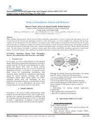 Study of Smartphone Attacks and Defenses - Ijecs