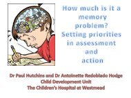 Setting priorities in assessment and action - CHERI - The Children's ...