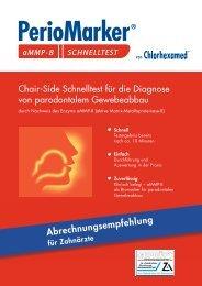 Abrechnungsbroschüre als PDF downloaden - Zahnheilkunde.de