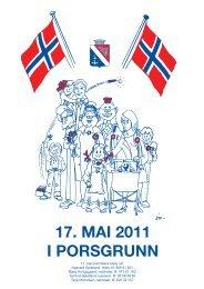 17. MAI 2011 I PORSGRUNN - Porsgrunn Kommune