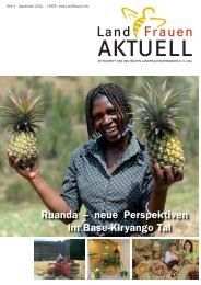 Ruanda – neue Perspektiven im Base-Kiryango Tal