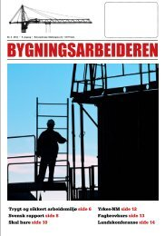 Bygningsarbeideren nr 4 - 2012.pdf - Oslo Bygningsarbeiderforening