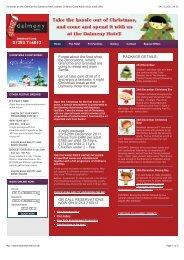 Christmas on the Coast at the Dalmeny Hotel ... - Visit Lancashire