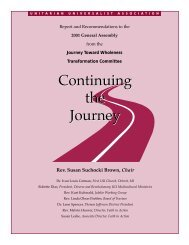 Journey Toward Wholeness Committee to make a final report (PDF ...