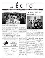 ECHOcantley.mars 99 - Echo of Cantley / Écho de Cantley