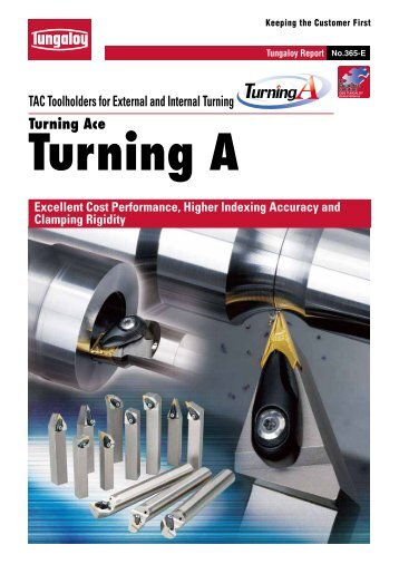 Turning Ace TAC Toolholders for External and Internal Turning