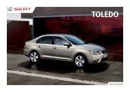 Katalog SEAT Toledo - Auto Jarov