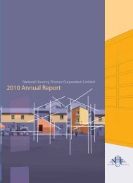 NHFC Annual Report - National Housing Finance Corporation